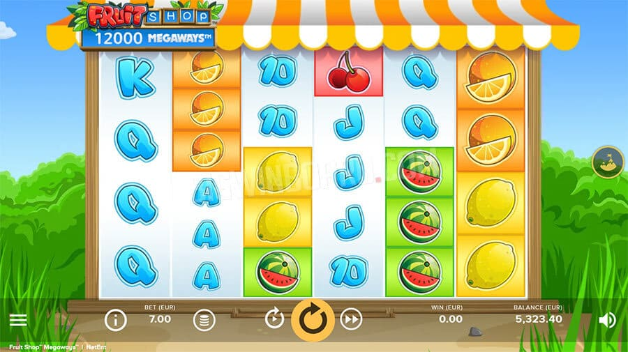 Fruit Shop Megaways (NetEnt)